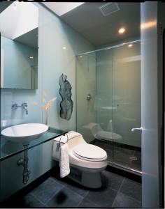 Tipos de cristales para mamparas de baño
