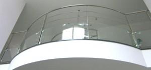 vidrio curvo