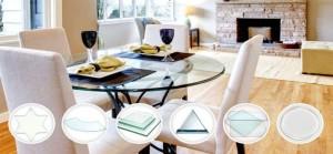 Cristal para mesa de cocina precios cristal a medida para mesa for Cristal templado cocina precio