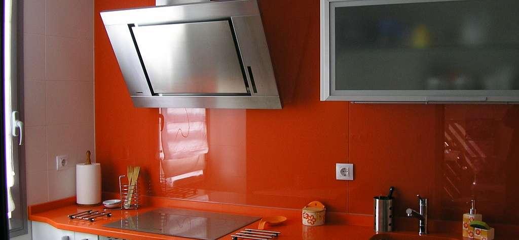 Frentes de cristal para cocinas frontal cocina de cristal - Cristal templado cocina precio ...