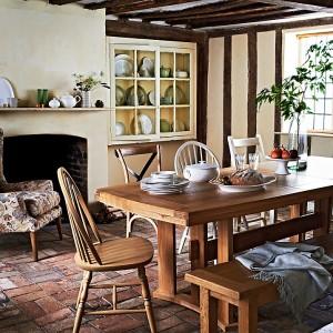 mesas madera cocina