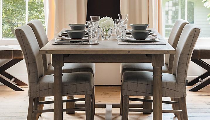 Cristal para mesa de madera de comedor for Adornos mesa comedor cristal