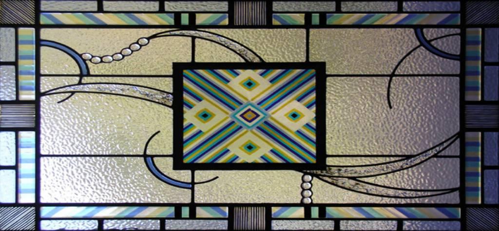 Cristales puertas decorados fusing - Cristales decorados para puertas ...