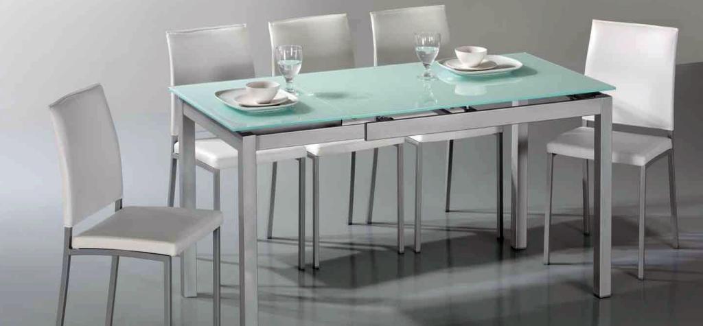 Mesas de cocina c24h for Ideas mesa cocina estrecha