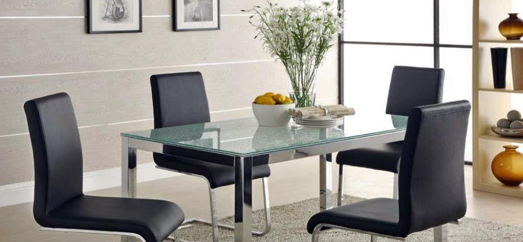 Mesas De Comedor Tipos De Cristales Para Mesas
