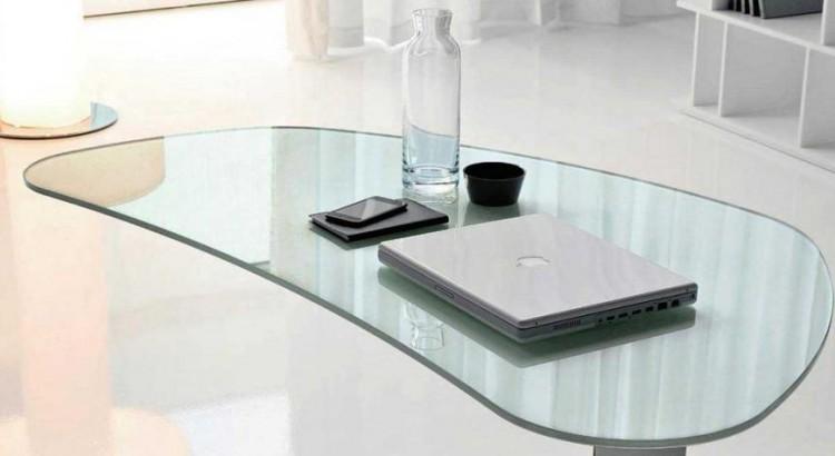 Mesa de estudio cristal mesa de estudio cristal with mesa - Mesa estudio cristal ...