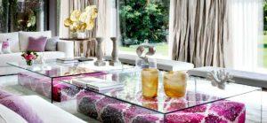 tipos de cristales para mesas