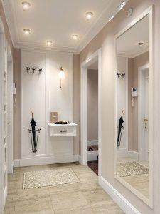 Ideas para decorar un pasillo estrecho uso de espejos a - Espejos para pasillos ...