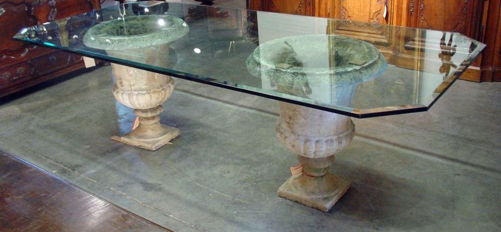 cristales templados a medida conformar integramente una mesa
