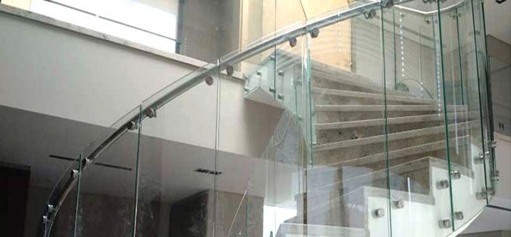 vidrios curvados templados