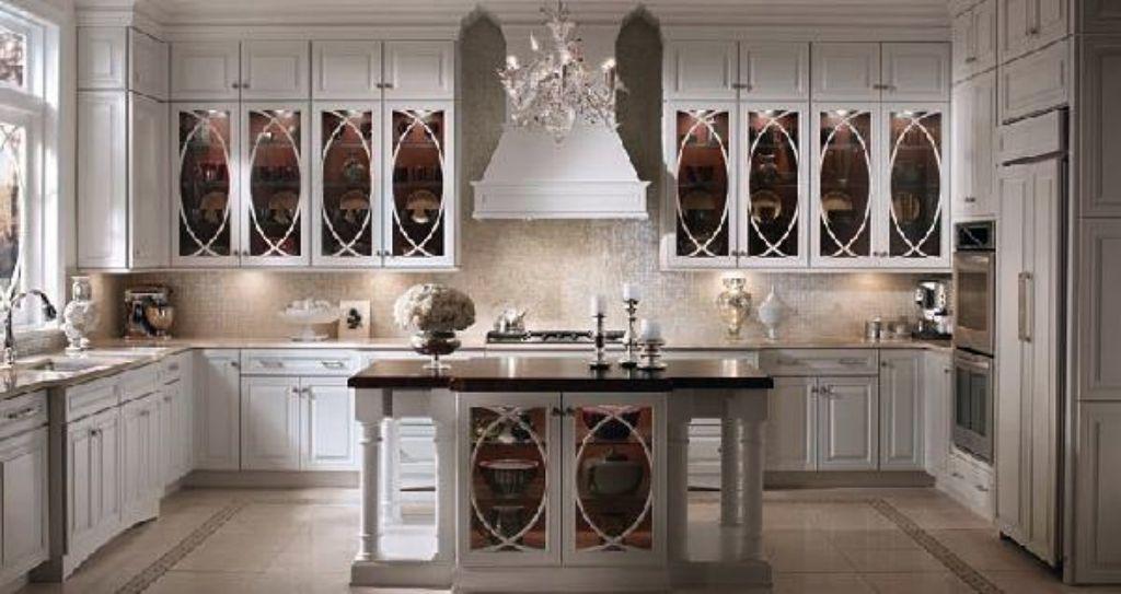 cristales para puertas de armarios de cocina