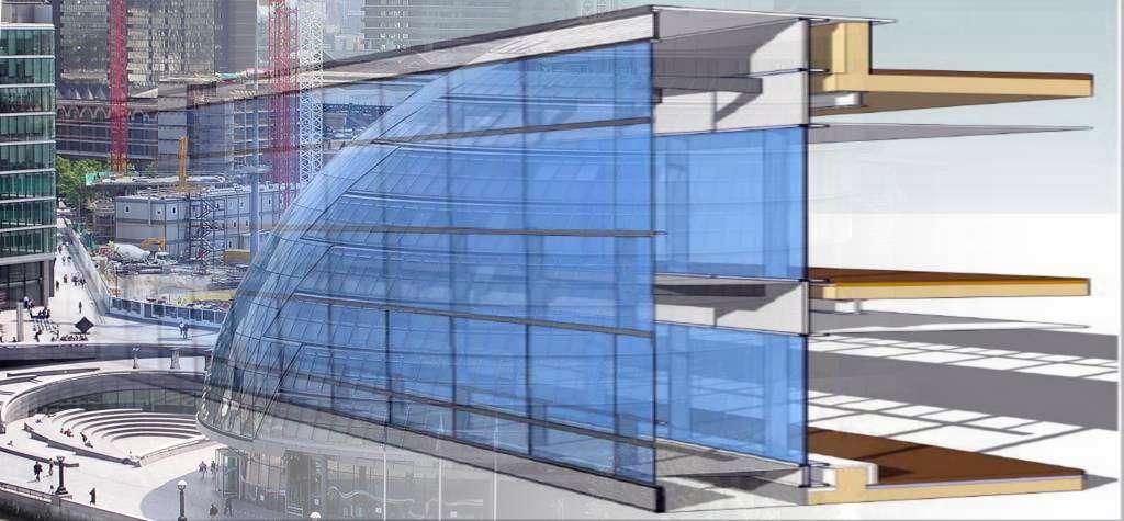 muro cortina fachada vidrio muro cortina fachadas estructurales a medida