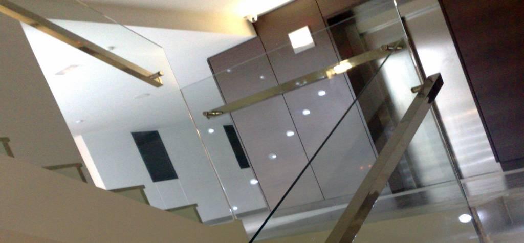 barandas de vidrio para escalera mallorca barandillas y pasamanos escaleras de cristal rellanos pasamanos escaleras mallorca