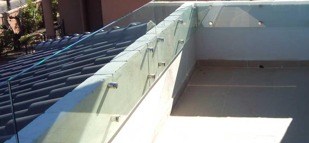 barandillas de cristal templado presupuesto cristal templado para barandillas de balcones y terrazas