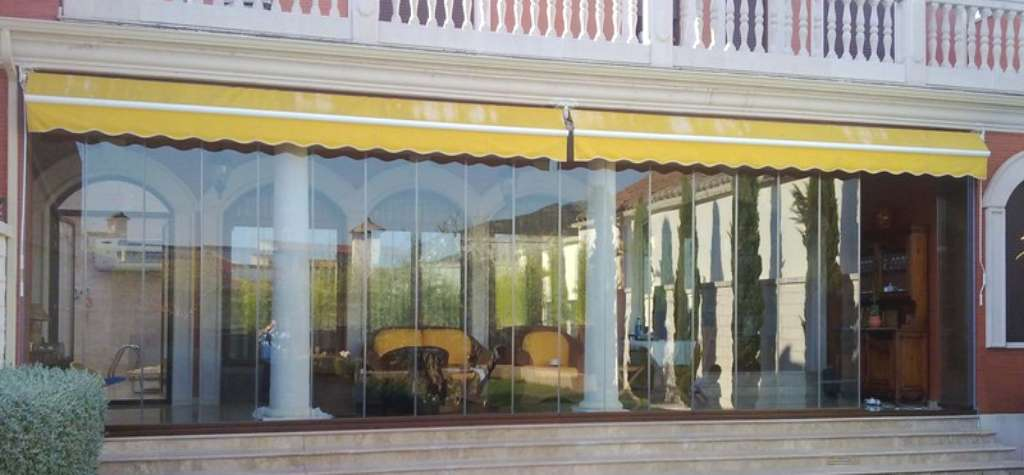 Cortinas terraza cortinas de cristal para cerramiento de terraza with cortinas terraza elegant - Cristal climalit precio ...