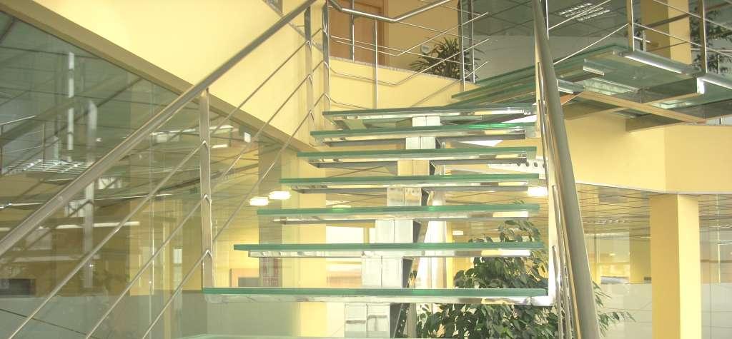 Escaleras De Cristal Escalera De Vidrio Templado