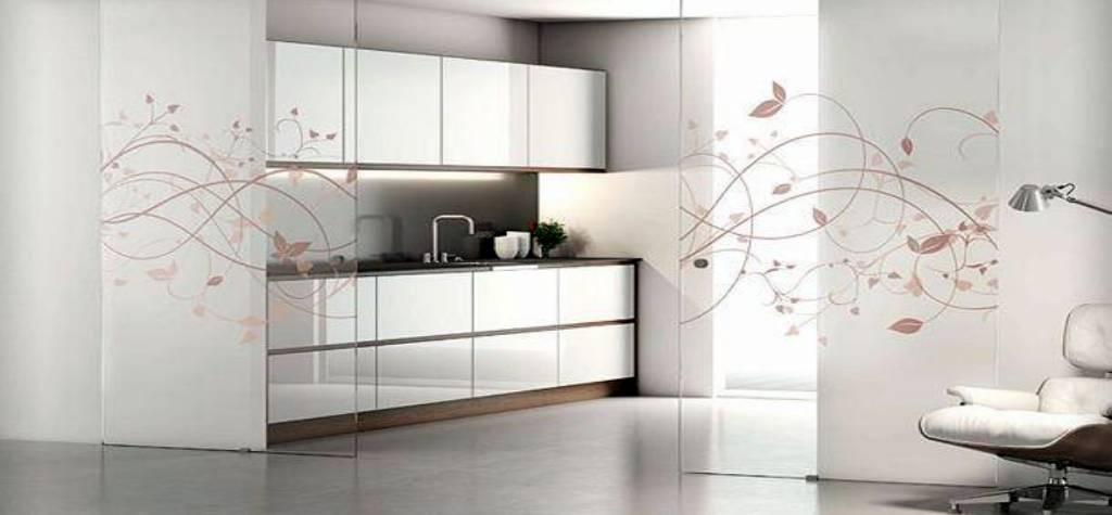 Cristales a medida para mamparas de ducha - Puertas correderas de cocina ...