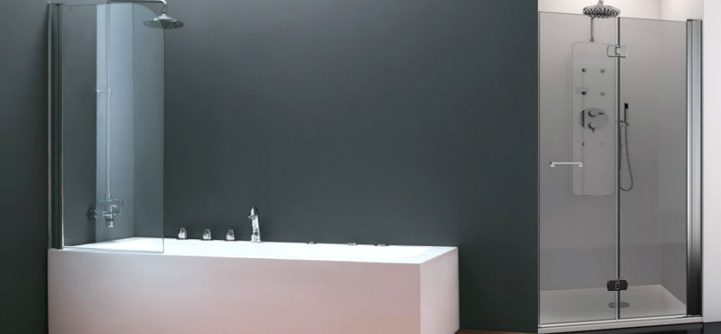 Mamparas Para Baño A Medida:Venta De Mamparas Para Baños- Mampara De Cristal Para Platos De