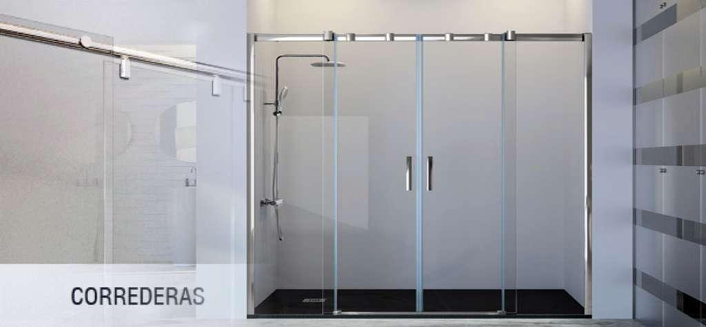 mamparas de ducha correderas precios España
