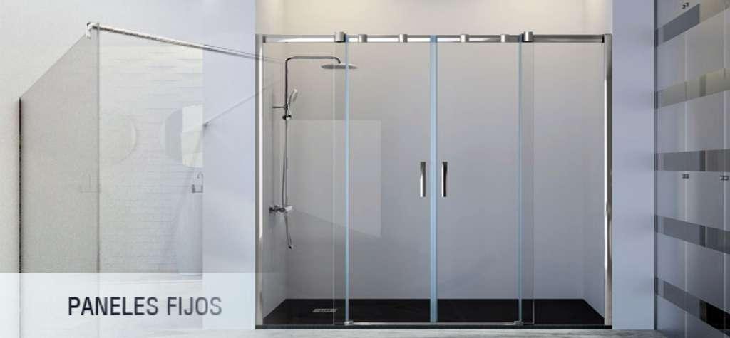 mamparas de ducha paneles fijos precios España