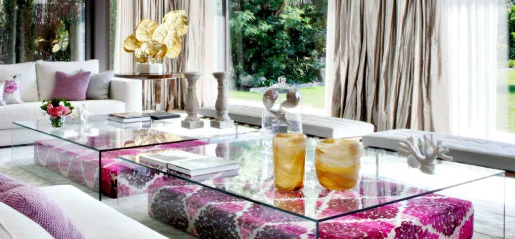 cristal y vidrio cortado a medida para mesa redonda o