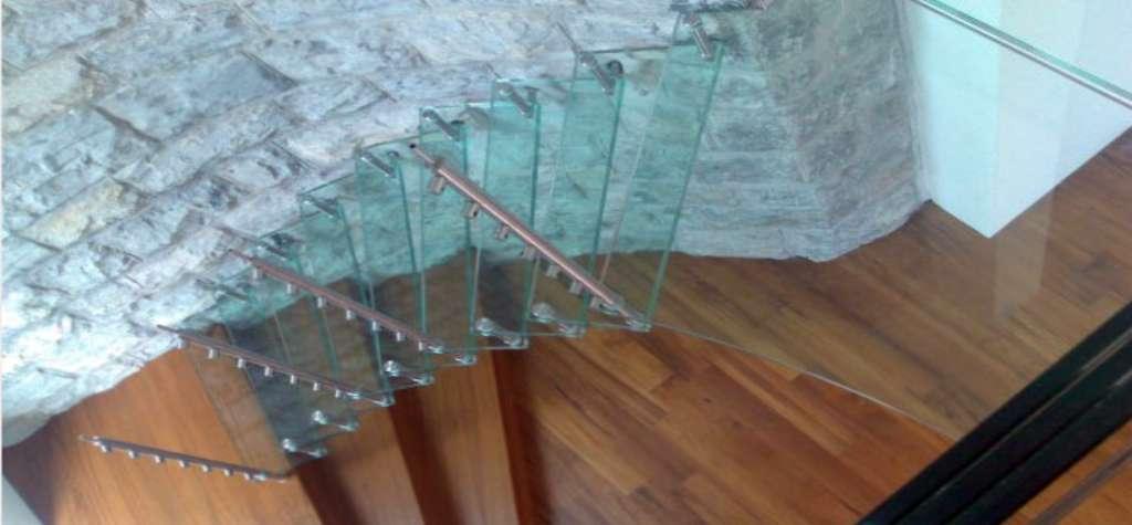 Peldaños De Cristal Para Escaleras Fabricantes España