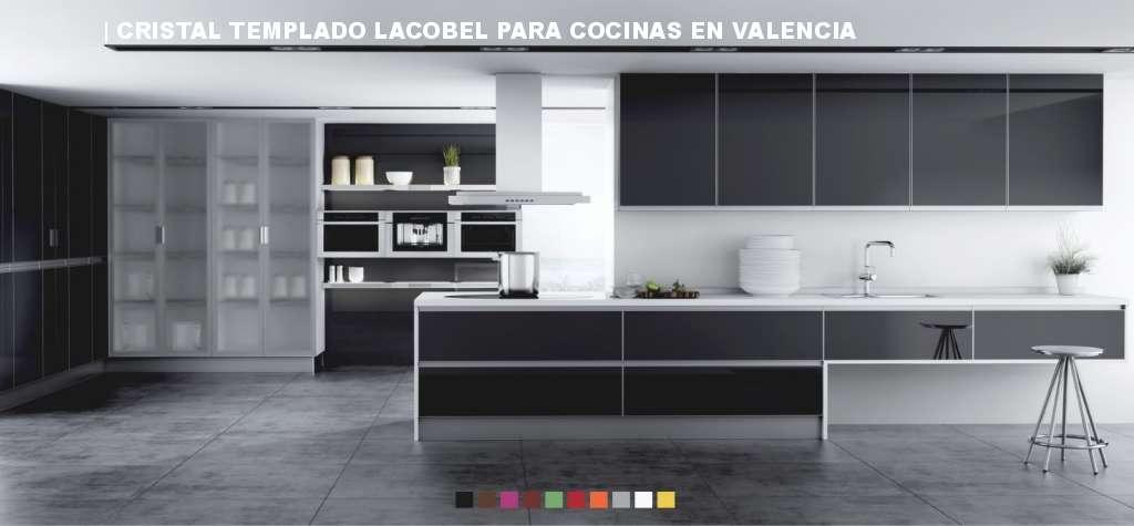 Precio corte de cristal templado a medida en valencia for Cocinas baratas valencia
