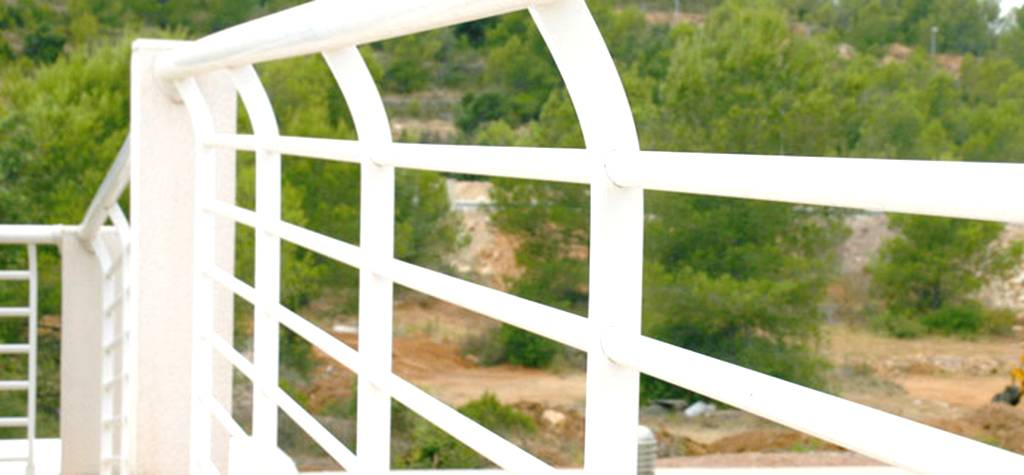 Barandillas de aluminio en España