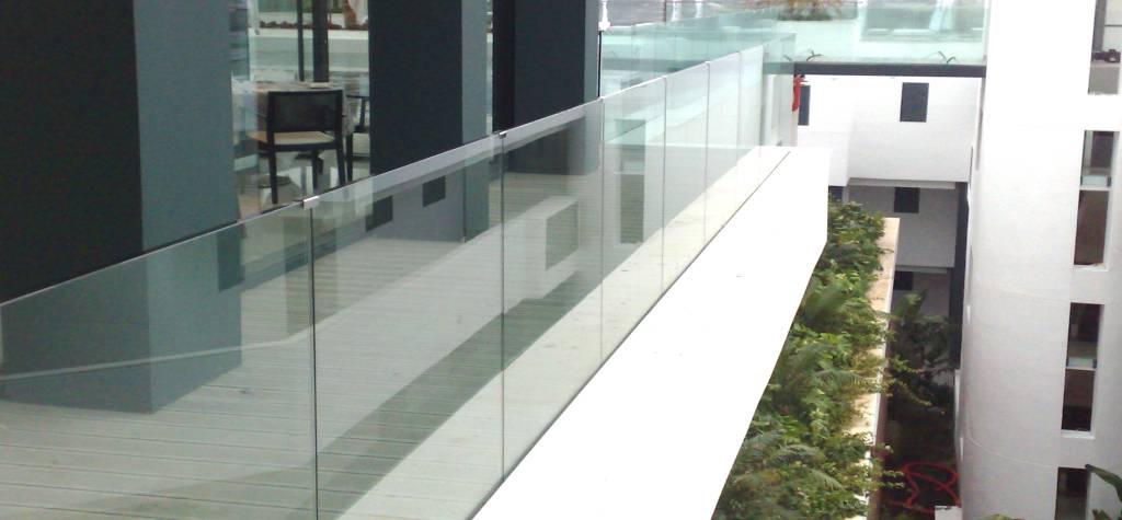 Barandilla de cristal precio barandillas de cristal venta - Cristales para terrazas ...