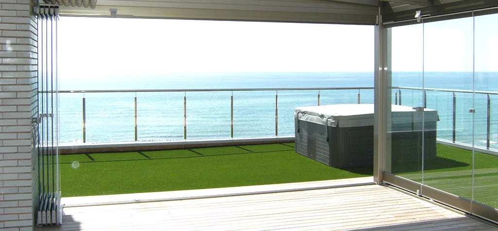Cerramientos de terrazas con cristales - Cerramientos para terrazas ...