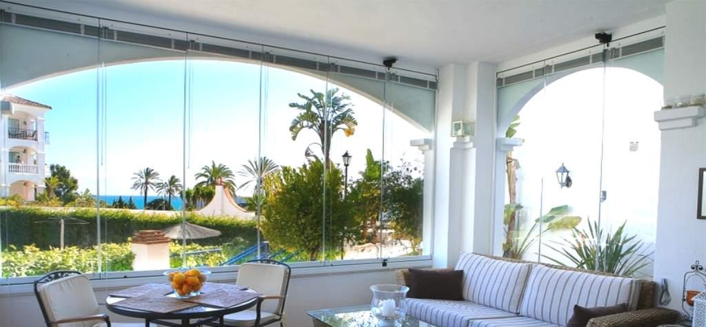 Cortinas de cristal precio cortina de cristal for Cortinas espana
