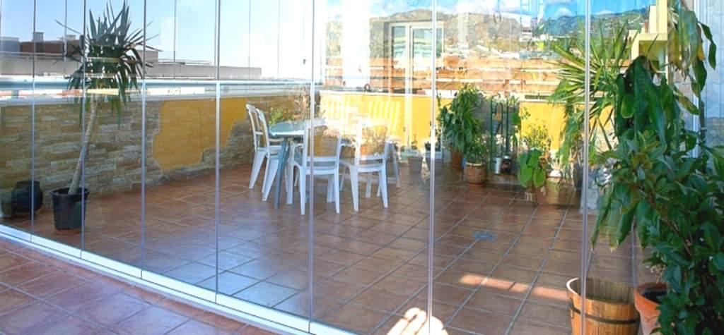 Cristales para balcones precio cristales a medida para - Cerramientos de aluminio para balcones ...