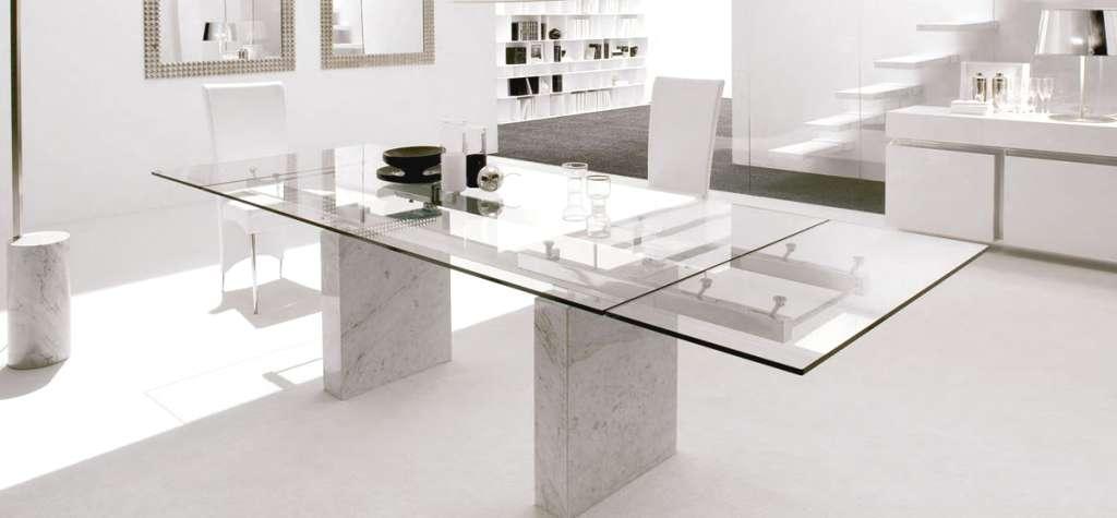 Cristal templado a medida para mesa