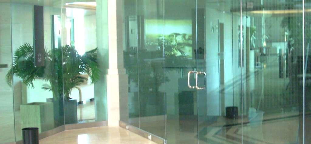 Puertas de cristal a medida modelo 2
