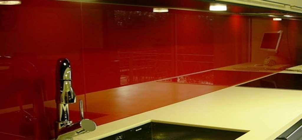 reformas cocinas vidrio precio España m2 vidrio laminado color