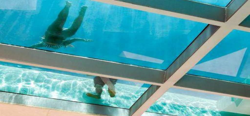 suelo cristal pisable antideslizante suelo vidrio laminado pisables precios suelos transitables España