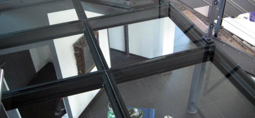 suelos de cristal precio m2 vidrio laminado 10+10 transitable España