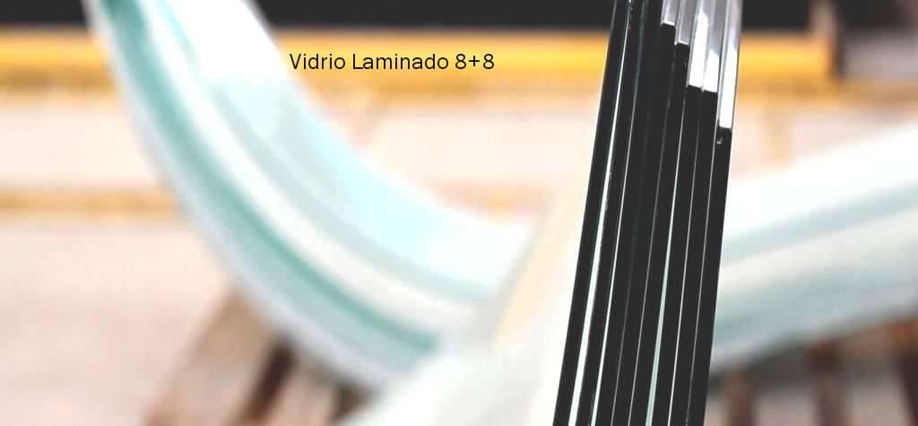vidrio laminado 8+8 precio España m2 vidrio laminar 8+8 cristales laminados de seguridad de 8mm