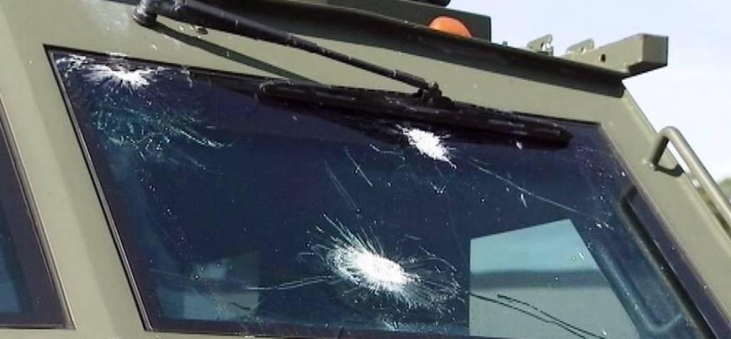 cristales blindados para vehiculos militares impactos de bala sobre vidrio blindado militar españa