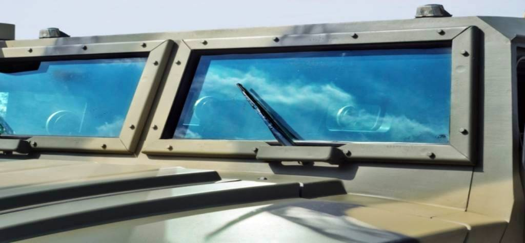 cristales blindados para vehiculos militares españa