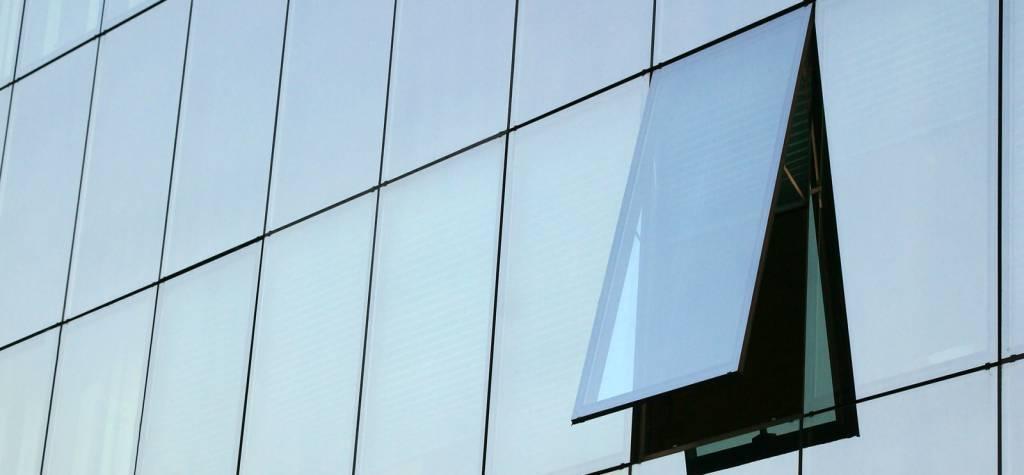 Vidrio muro cortina